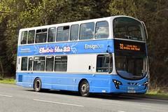 EU62 BSY (markkirk85) Tags: thurrock bus buses volvo b5lh wright eclipse gemini ensignbus new ensign purfleet 112012 501 eu62 bsy eu62bsy