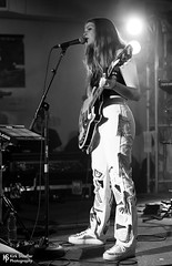 Maggie Rogers @ SXSW 2017 (Kirk Stauffer) Tags: kirk stauffer nikon d5 adorable amazing attractive awesome beautiful beauty charming cute darling fabulous feminine glamour glamorous goddess gorgeous lovable lovely perfect petite precious pretty siren stunning sweet wonderful young female girl lady woman women live music tour concert show stage gig song sing singer singing vocals perform performer musician band lights indie pop rock long blonde hair freckles wavy abs model tall fashion style portrait photo smile smiling playing guitar alaska black white bw