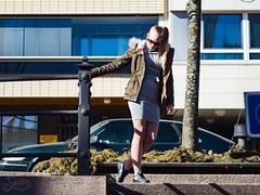 Stairs (asaamane) Tags: fashion jaanaviren kotka miljöö muotokuva tfcd casual tyttö