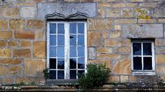 Old windows - Landerneau (patrick_milan) Tags: wreck destroyed broken abandon oublié forgotten ruin ruine decay old house castel chateau vieux landerneau rouille rusty