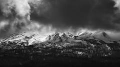 Moody Shasta (Smi77y_OG) Tags: shasta mtshasta clouds cloudporn morninglight sun shade mountain pnw pacificnorthwest northerncalifornia blackandwhite monochrome mood