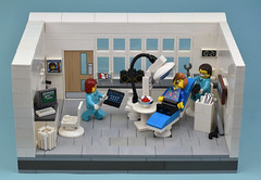 Open Wide Please (MinifigNick) Tags: dentist lego afol teeth surgery firestar minifig minifigure