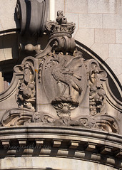 Liver Bird (.annajane) Tags: liverpool merseyside liverbuilding liverbird relief bird sculpture uk pierhead england