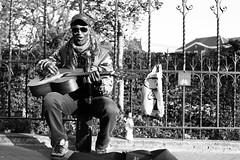 very talented (livio.luca) Tags: museumplein amsterdam portrait bw blackandwhite guitar street streetphotography