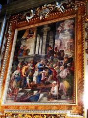 """Centurion Cornelius' baptism"" - fresco (1605) by Belisario Corenzio (Acaia 1558-Naples 1646) - Gesù Nuovo Church in Naples (Carlo Raso) Tags: belisariocorenzio naples italy fresco"