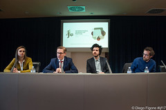 Nativi digitali e startup editoriali di successo in Europa - Cracking the code: digital-born and start-up news organisations in Europe #ijf17 (International Journalism Festival) Tags: babinets grasso nielsen pfauth ijf17 saladellecolonne paneldiscussion