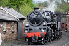 BR Standard 2-6-0 76079 (spencerdavid25) Tags: locomotive train steam grosmont nymr