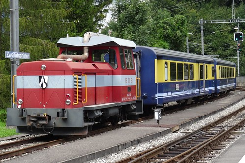 BOB - Diesellocomotive type HGm 2/2 N° 31.