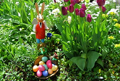 To The Joy (ivlys) Tags: darmstadt minigarden osterhase easterbunny eier eggs ostern easter nature ivlys