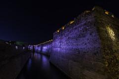 MURALLA DE CEUTA (Pedro Orihuela Orellana) Tags: nikonflickraward ceuta night rampart fortress fortaleza nikon tokina nocturna
