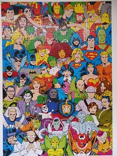 DC Comics, Aquarius, 3000 pieces