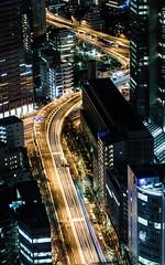 Skyline de Tokio (Jonás Garca) Tags: skyline tokio tokyo japon japan ciudad noche luces edificios rascacielos coches eos700d conmicanon nocturna governmentbuilding city night shinjuku metropolitan