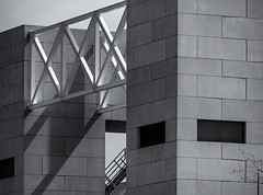 Urbanscape 3 #  33 .... ; (c)rebfoto (rebfoto) Tags: urbanscape cityscape building architecturephotography rebfoto blancetnoir blackandwhite buildingsarebeautiful
