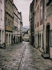 Steyr (schasa68) Tags: austria österreich oberösterreich upperaustria city stadt historisch alt old gasse street strase weg häuser house streetphotography olympus om10