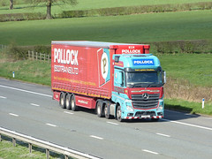 Pollock T3PSL 170331 M6 [Barnacre] (maljoe) Tags: pollock pollockscotrans truck trucks lorry