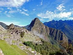 Machu Picchu bei Sonnenschein