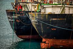 Abandoned Boats (Spiros Paraskevopoulos) Tags: boats seaspace sea salamina greece nikond610 nikkor28300