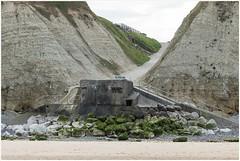 bunker Atlantikwall (HP025716) (Hetwie) Tags: cotedopale kust opaalkust france frankrijk coast bunker escalles atlantikwall sea strand zee cap capblancnez capgrisnez hautsdefrance fr