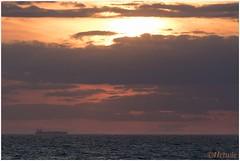 zonsondergang (HP025664) (Hetwie) Tags: capblancnez opaalkust sea kust coast cotedopale capgrisnez cap frankrijk strand france zee audresselles hautsdefrance fr