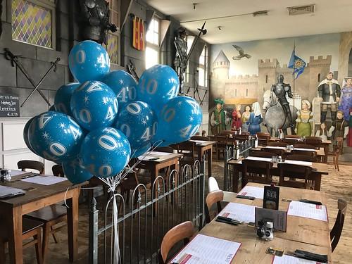 Heliumballonnen 40 Jaar Wapen van Poortugaal