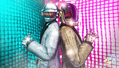 Human After All (_Adra_ * Be Back Soon *) Tags: daftpunk disco music helmet colorful technologic secondlife