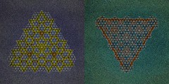 Sand - Tessellation (Marjan Smeijsters) (De Rode Olifant) Tags: marjansmeijsters sandtessellation paper tessellation paperfolding pattern origami
