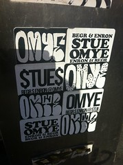 Omye, Stue$, Begr, and Enron (graffNYCurator) Tags: nsf stue enron stuey begr omye omye67 uploaded:by=flickrmobile flickriosapp:filter=nofilter