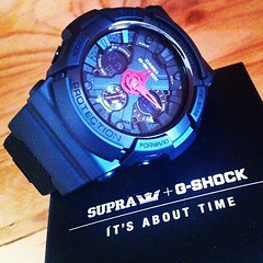 SUPRA x G-SHOCK @ SCARCETOYS (scarcetoys) Tags: toys south watch australia casio adelaide limited edition gshock streetwear supra scarce uploaded:by=instagram scarcetoys foursquare:venue=5179e8ea498e3d703eb82b9a