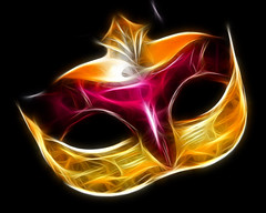 fractal fresco mask (lisa24270) Tags: venice photoshop mask venetian fractal fractalius