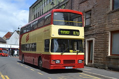 Pilkington Bus Leyland Olympian J622GCR - Accrington (dwb photos) Tags: bus alexander leyland accrington decker olympian j622gcr pilkingtonbus