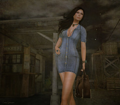 ShabbyCat Denim Dress (Cindy Gedenspire) Tags: yummy truth willow glitterati amorous kosh ison shabbycat