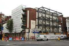 Queens Cinema (SReed99342) Tags: uk england london construction derwent renovation queensway queenscinema