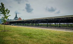 Central Railroad Terminal of New Jersey on the Hudson River (mbell1975) Tags: new york city nyc railroad usa ny newyork station america train river us central railway bahnhof terminal trainstation jersey hudson bahn manhatten railstation