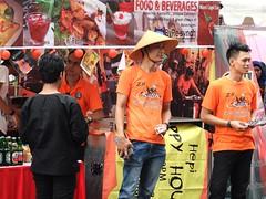 One of food booths in Jakarta Little Tokyo Ennichisai (yusuf ks) Tags: festival japan indonesia tokyo little jakarta nippon matsuri jepang blokm 2013 melawai ennichisai