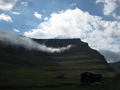 Cloud on the hillside (Jan Egil Kristiansen) Tags: cloud hill faroeislands sooc svnoy img7643 fo24