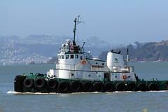 Keegan Foss (Walt Barnes) Tags: canon eos boat ship vessel richmond calif tugboat tug sanpablobay 60d millerknox canoneos60d eos60d keeganfoss wdbones99