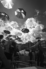 We only need more umbrellas to protect us from lovely sunny weather! (markus.huck) Tags: umbrella altstadtfest schirme waiblingen postplatz 2013 lschmich lschmich2 lschmich3 lschmich4 behaltmich behaltmich2 leicammonochrom l1013363v3kopie2048jpg