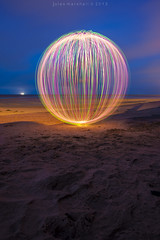 its all about the orb (~ jules ~) Tags: longexposure pink light red sea sky lightpainting green beach clouds ball circle globe julian sand nikon horizon orb tokina sphere round jules cleethorpes lapp 1116mm d300s julianmarshall jayemphotographycouk julianmarshall2013