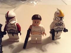 Woohoo New Padme!!! (Johnny-boi) Tags: 2 trooper star lego ii padme wars minifigs clone pilot episode gunship amidala 2013 geonosis