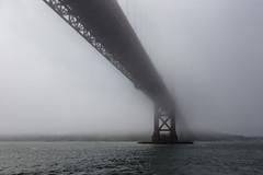 Golden Gate Bridge in Fog as Ever (Terjeofnorway) Tags: sanfrancisco california water fog golden gate unitedstates mystical towering