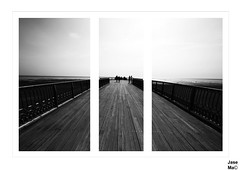 St Annes Pier (JaseMac Images) Tags: sea seascape beach canon pier blackwhite seaside piers sigma shades shore seafront stannes whiteblack sigma1020mm sigma1020mmf456exdc canon7d
