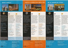 184 - Brochure - 7 monuments of Paris - 20130414 (chriggy1) Tags: paris france scanned april monuments day4 brochure 2013