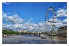 The Eye and The Thames - London, England (gastwa) Tags: travel england sky cloud london eye thames river landscape nikon focus scenery control angle wide perspective wideangle andrew full frame 24mm manual fullframe fx manualfocus d800 f35 pce gastwirth d800e andrewgastwirth