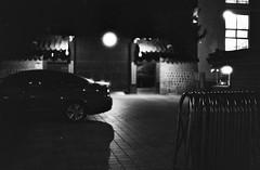 ... (june1777) Tags: street light 2 bw night t 50mm ar bokeh palace snap lucky seoul 100 konica pushed autoreflex hexanon f17 jongro unhyeonggung