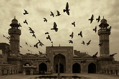 Wazir Khan Mosque in Lahore (syrus_emily) Tags: pakistan heart lahore of