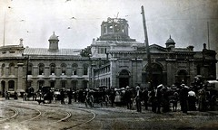City Hall 1908 after fire destroyed the dome, rebuilt in 1909 - thanks Bill Cassidy (Century 21 Champ Realty -Bill Stevenson) Tags: fire marketsquare kingstoncityhall brockstreetkingston