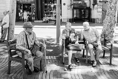 DSCF2071 (veneman) Tags: barcelona street city blackandwhite bw fujifilm lasramblas x20 rambla photographersontumblr