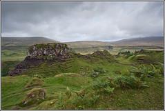 Fairy Glen (seozzy) Tags: storm skye rain landscape scotland glen fairy isle