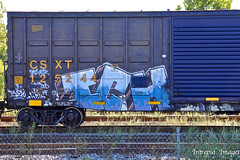 ICH (INTREPID IMAGES) Tags: street railroad color art train bench circle t graffiti fan paint steel painted sony tracks rail railway trains tags images 63 yme railcar intrepid writer boxcar graff grab ich freight rolling ichabod csx itd sfl gr8 paintedtrains fr8 csxt benching 125244 intrepidimages