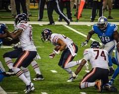 NFL Week 4 Bears vs Lions (Carl's Captures) Tags: sports oneaday stadium nfl running run professional rush